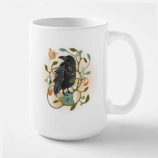 Celtic Crow Mugs