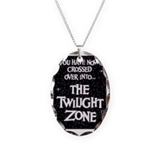 The Twilight Zone  Necklace Oval Charm