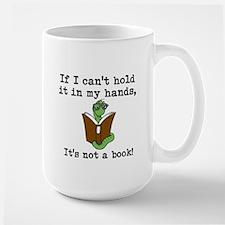 It's Not A Book! - Large Mug Mugs