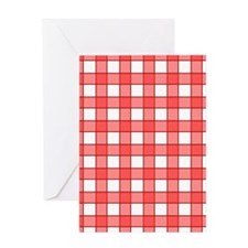 Checkered Greeting Cards
