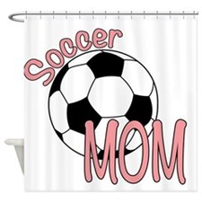 SOCCER MOM Shower Curtain