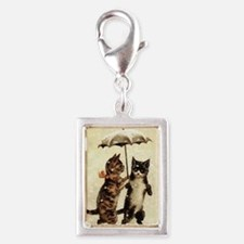 Cats, Vintage Painting Charms