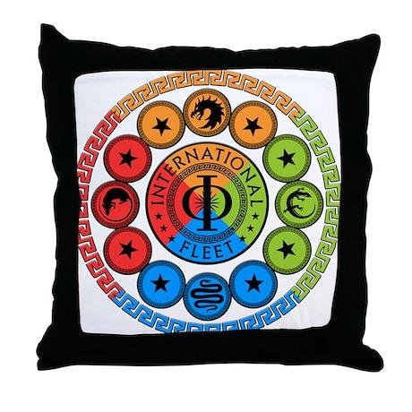 Enders Game Original Art Throw Pillow