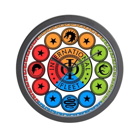 Enders Game Original Art Wall Clock