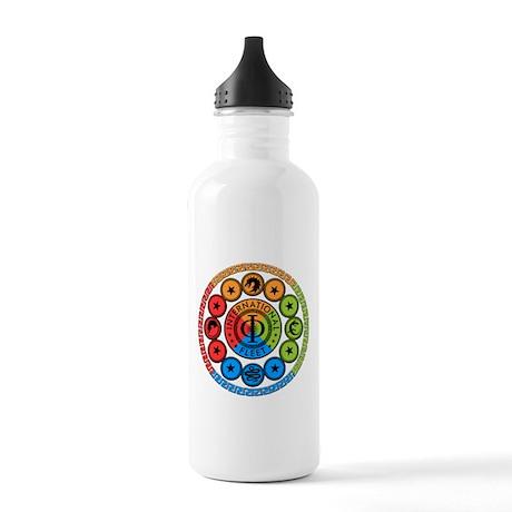 Enders Game Original Art Water Bottle