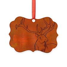 Elk with antlers Ornament
