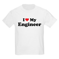 i heart my engineer.png T-Shirt