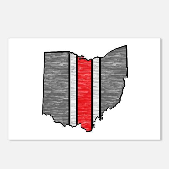 FOR OHIO Postcards (Package of 8)