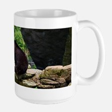 Grandfather Bear Scene I Large Mug