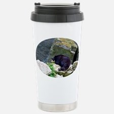 Grandfather Bear VI Stainless Steel Travel Mug