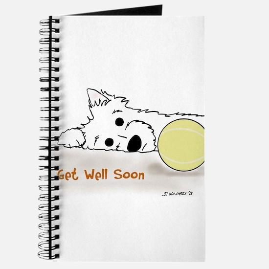 Get Well Westie Journal