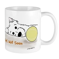 Get Well Westie Mugs