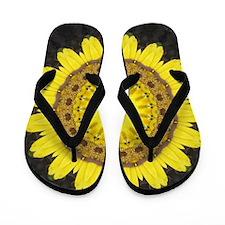 Sunny Kaleidoscope Empress Flip Flops