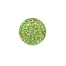 Martini Olive design Mini Button