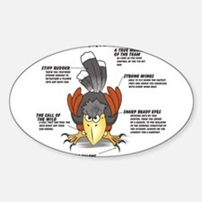 The Harris Hawk Decal