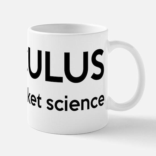 Calculus Is Rocket Science Mug