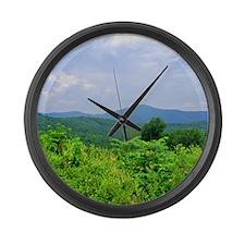 Brown Mountain II Large Wall Clock