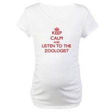 Keep Calm and Listen to the Zoologist Shirt