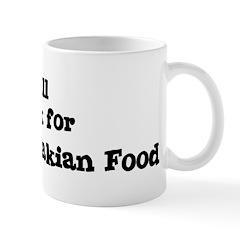 Will work for Czechoslovakian Mug