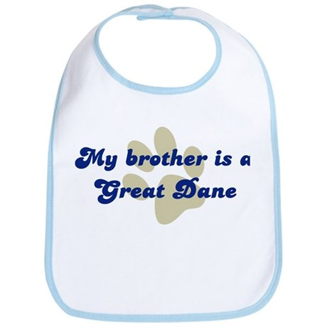 My Brother is Great Dane Bib