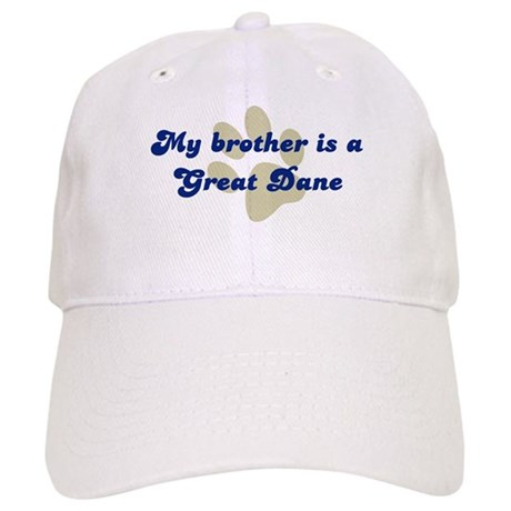 My Brother is Great Dane Cap