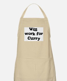 Will work for Curry BBQ Apron