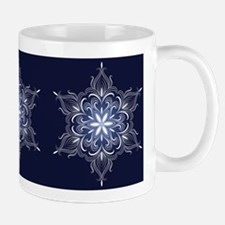 Winter Snowflake Mugs