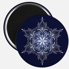 Winter Snowflake Magnets