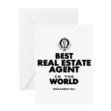 The Best in the World Real Estate Agent Greeting C