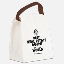 The Best in the World Real Estate Agent Canvas Lun