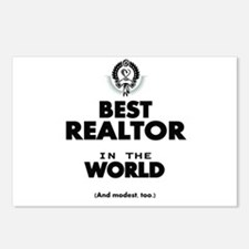 The Best in the World Realtor Postcards (Package o
