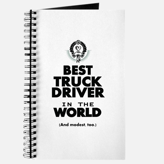 The Best in the World Truck Driver Journal
