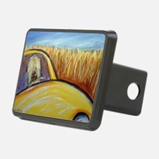 Soft Coated Wheaten Terrier driver Hitch Cover