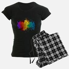 Rainbow Splatter Pajamas