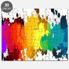 Rainbow Splatter Puzzle