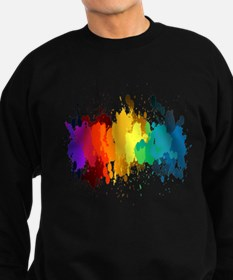Rainbow Splatter Sweatshirt