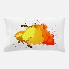 Paint Splatter Pillow Case