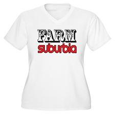 farm suburbia Plus Size T-Shirt