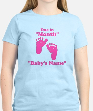 due in pink T-Shirt