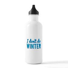 I Dont Do Winter Water Bottle