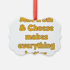 Mac Cheese Ornament
