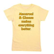 Mac Cheese Girl's Tee
