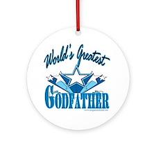 Super Godfather Ornament (Round)