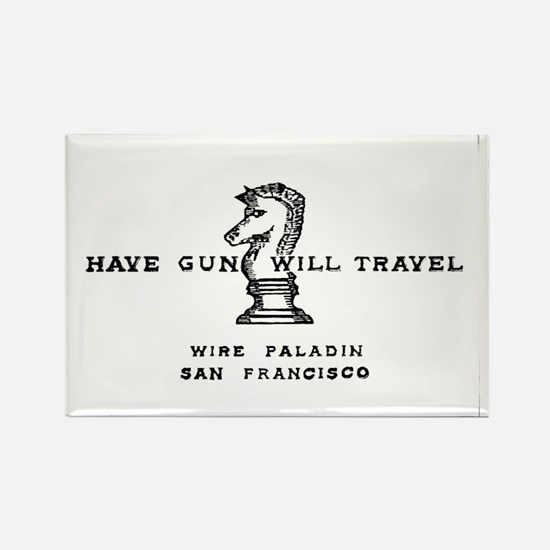 Have Gun Will Travel Rectangle Magnet