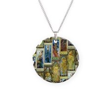 Mucha's Night and Day Necklace