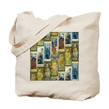 Mucha's Night and Day Tote Bag
