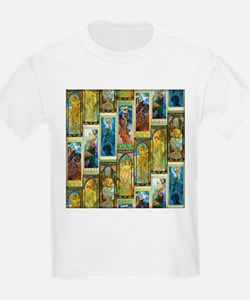 Mucha's Night and Day T-Shirt