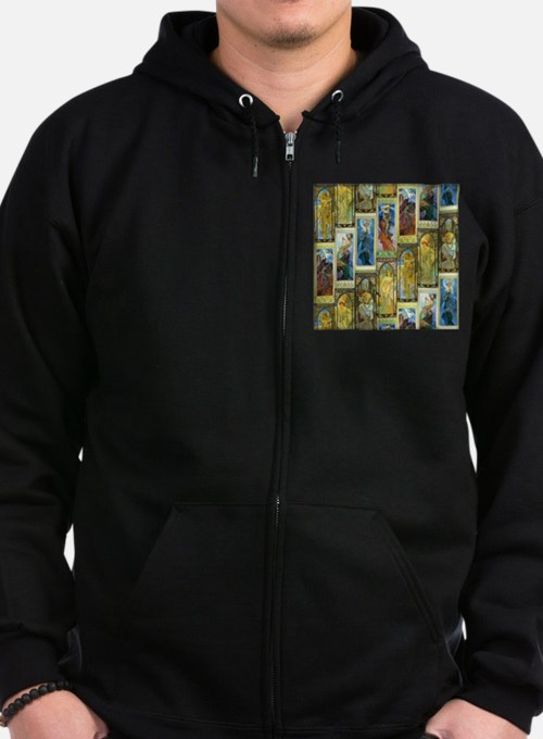 Mucha's Night and Day Zip Hoodie