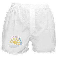 Little Miss Sunshine Boxer Shorts