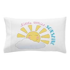 Little Miss Sunshine Pillow Case